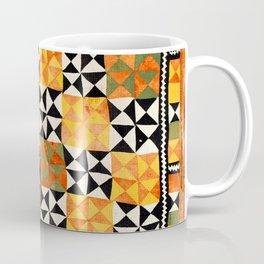 North Afghanistan Cotton Quilt Print Coffee Mug
