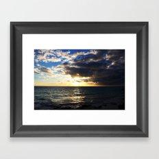 Light to Dark Framed Art Print