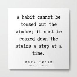57    | Mark Twain Quotes | 190730 Metal Print