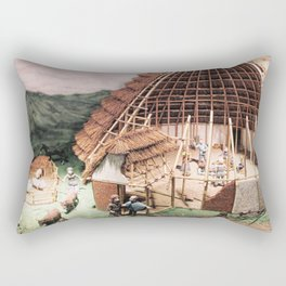 Ye Olde England Rectangular Pillow