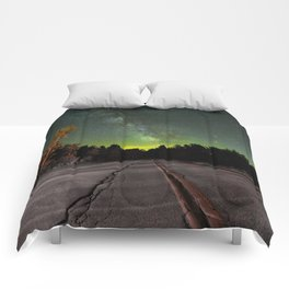 Northern Lights (Color) Comforters