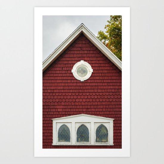 Churchy Art Print