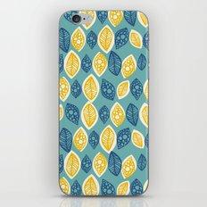 Honeydrop Leaves iPhone & iPod Skin