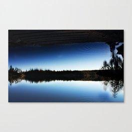 Borderline Sky Canvas Print