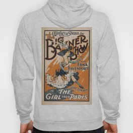 Vintage poster - The Girl from Paris Hoody