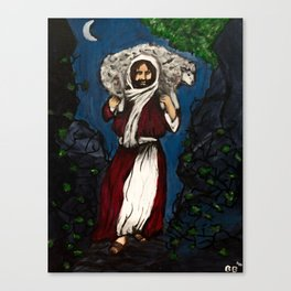 He Will Carry You Canvas Print