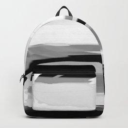 Soft Determination Black & White Backpack