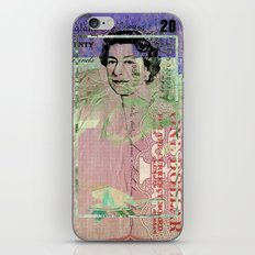 Queen iPhone & iPod Skin
