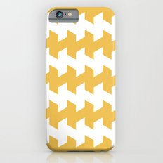 jaggered and staggered in mimosa iPhone 6s Slim Case