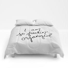 Freakin' Organized Comforters