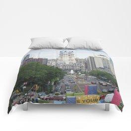 Philadelphia City Hall Comforters