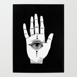 Hamsa Horus Poster