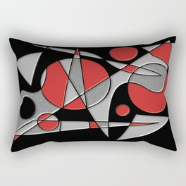 Abstract #284 Paladin Rectangular Pillow