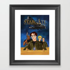 Disney SG1 Framed Art Print