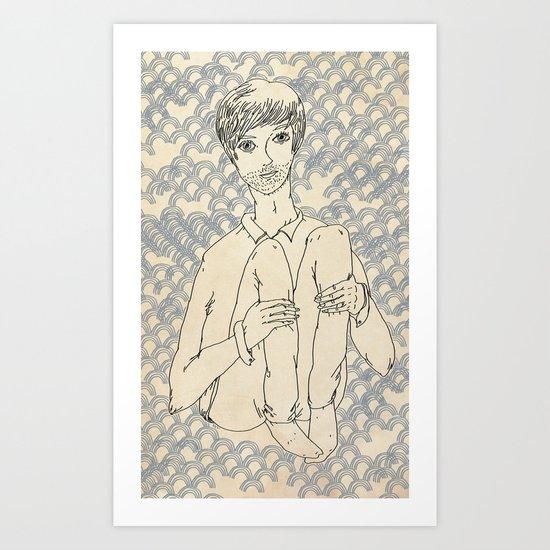 Brian Art Print