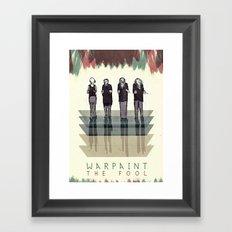 Warpaint Framed Art Print