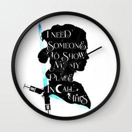 rey - sabre Wall Clock