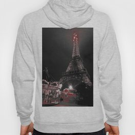 Red Eiffel Hoody