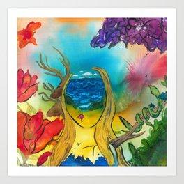 Woman: Jona Art Print