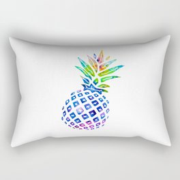 Rainbow Pineapple Rectangular Pillow