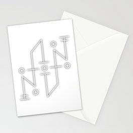 Sigil: Tzu Auna (Diffuse & Dispell negative energies) Stationery Cards