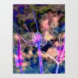 Floral Cloud Drama Poster