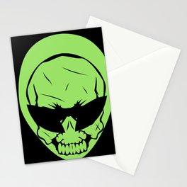 Alien Skull Stationery Cards