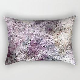 Purple Stoned Abstract Rectangular Pillow