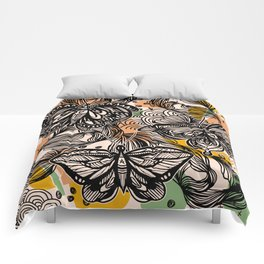 Lovely wings Comforters