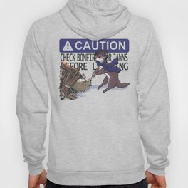 CAUTION: Check bonfires for Jawns before lighting Hoody
