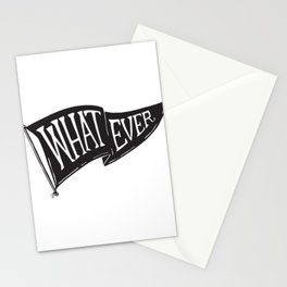 Whatever Flag Stationery Cards