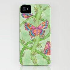 Butterfly Garden Slim Case iPhone (4, 4s)