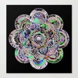 Mandala Montage Canvas Print