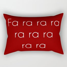 A Christmas Story Fa ra ra Deck the Halls Christmas Carol Rectangular Pillow