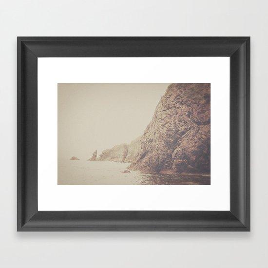 Rustic Ocean Framed Art Print