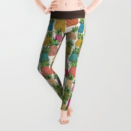 West Coast pineapples Leggings
