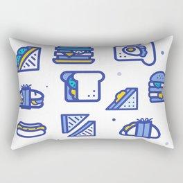 Sandwiches Rectangular Pillow
