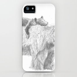 Mama and Cub iPhone Case