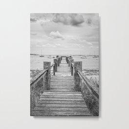 Old Dock Hyannis Port Cape Cod Ma Metal Print