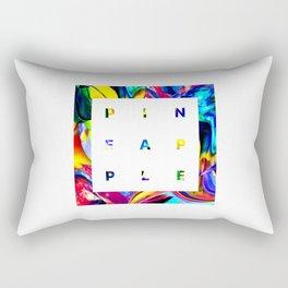Pineapple Vibes on High Technicolor Rectangular Pillow