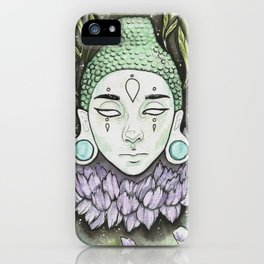 Serene Buddha iPhone Case