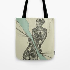 Queen of Carbon II Tote Bag