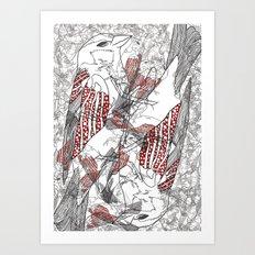 Flight & Death Art Print