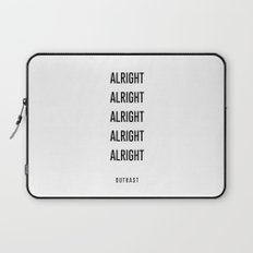alright alright alright Laptop Sleeve