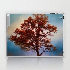 Vermillion Cotton Field Tree - Landscape Laptop & iPad Skin