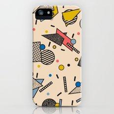 Memphis Inspired Pattern 7 iPhone SE Slim Case