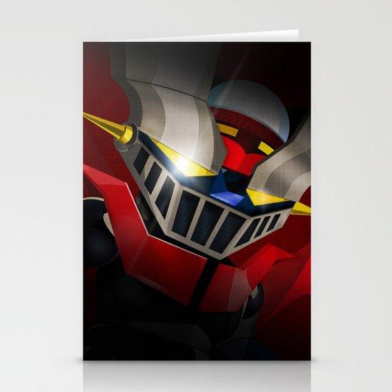 mazinger fan art Stationery Cards
