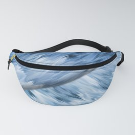 Abstract colored stripes 14 Fanny Pack