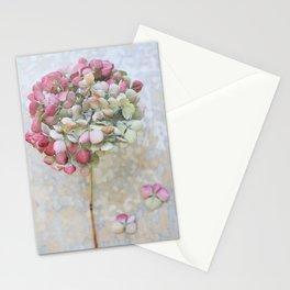 Pastel Dried Hydrangea Stationery Cards