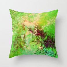 Goddess Of Death Throw Pillow